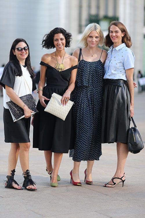 Street Style: New York Fashion Week Street Style Spring 2014: