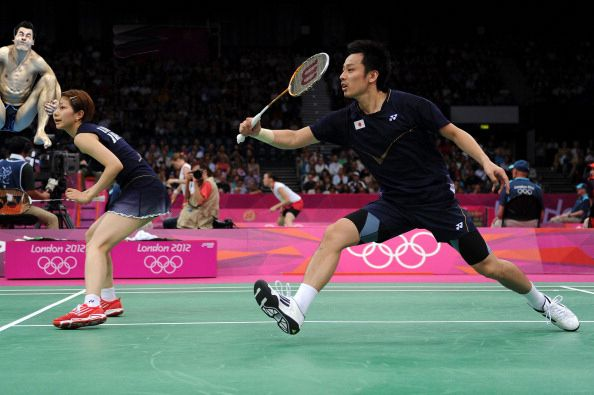 15. | 20 Photos Of Olympic Badminton Players Swatting Divers Like They're Flies