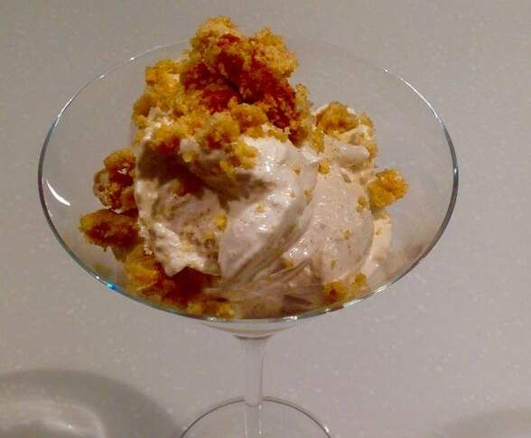 Recipe APPLE CRUMBLE FLUFF by Thermomistress - Recipe of category Desserts & sweets