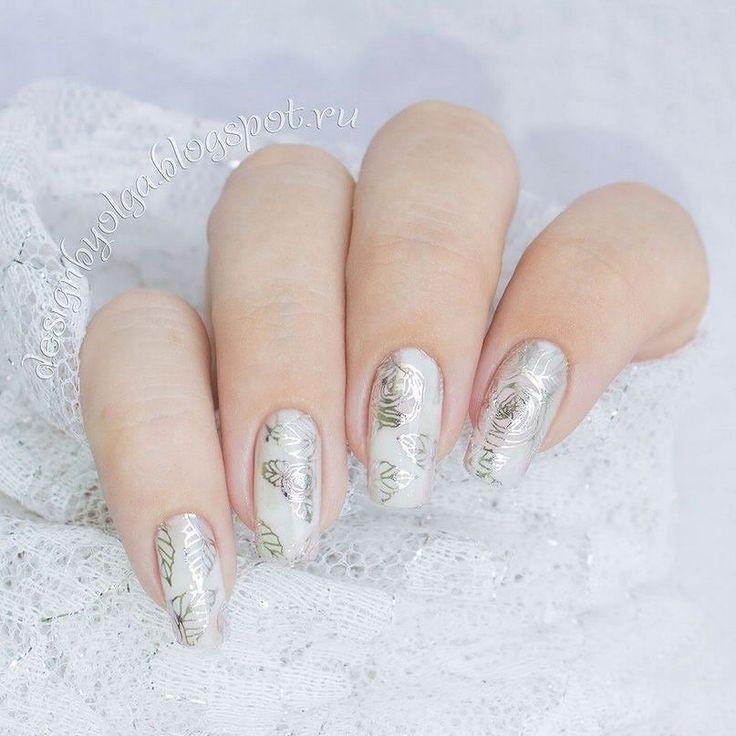#маникюр #nailart #гельлак #слайдер #чернаяпантера #bpw #красивыйманикюр #ногти #nail #nails #красивыеногти #лето #нежно #серебро #розовый #совмещенныйдизайн  Маникюр с цветами и серебром с @slider_bpwomen. http://ift.tt/2bftK6V