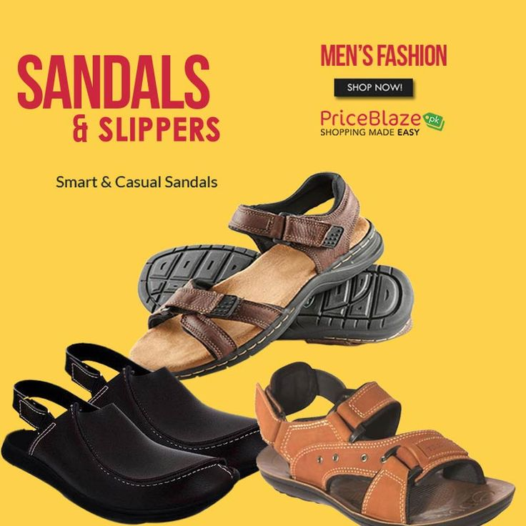 Smart & Casual Sandals for Men visit: http://ow.ly/aDFG30hV0s7 #Priceblazepk #Sandals #Slippers #Shoes #Chappal #Slipons #mensandals #mensfashion #menswear #casualshoes
