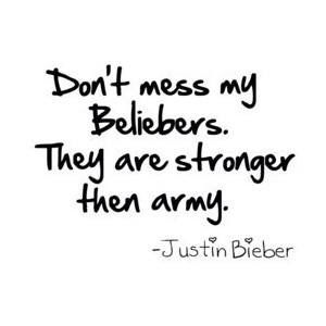 We are stronger than army