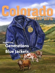 FFA Blue Jackets Supporting Colorado State University Program for Ag Futures.