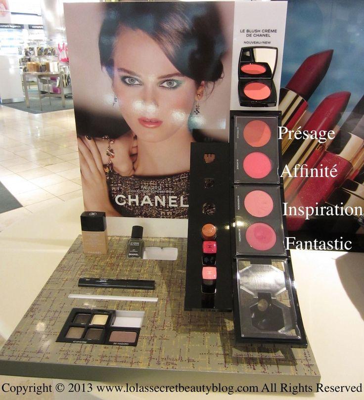 chanel cosmetic display - Google 검색
