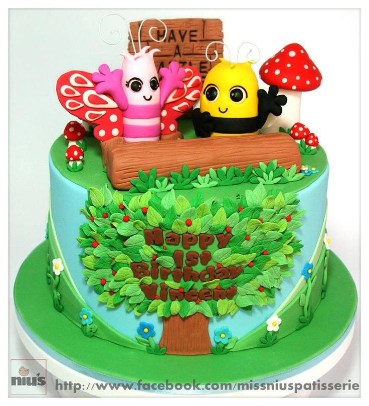 Custom Didi and B Birthday Cake!