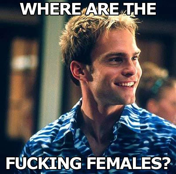 """""""American Pie"""" is overrated IMO - BUT Stifler does have some great lines. """"Stifler's Best Lines From The American Pie Series"""""""