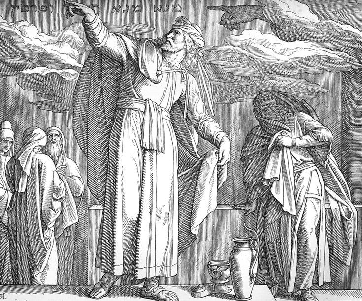Bilder der Bibel – Daniel – Julius Schnorr von Carolsfeld   – Bilblische Bilder und Zeichnungen