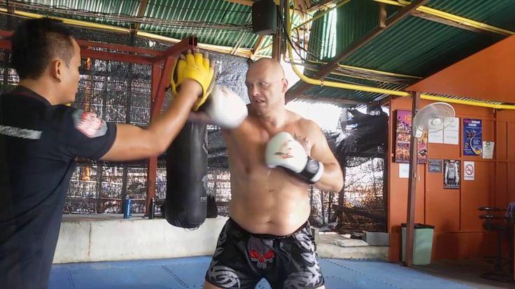 Tréniky trenéra v Tiger muay thai