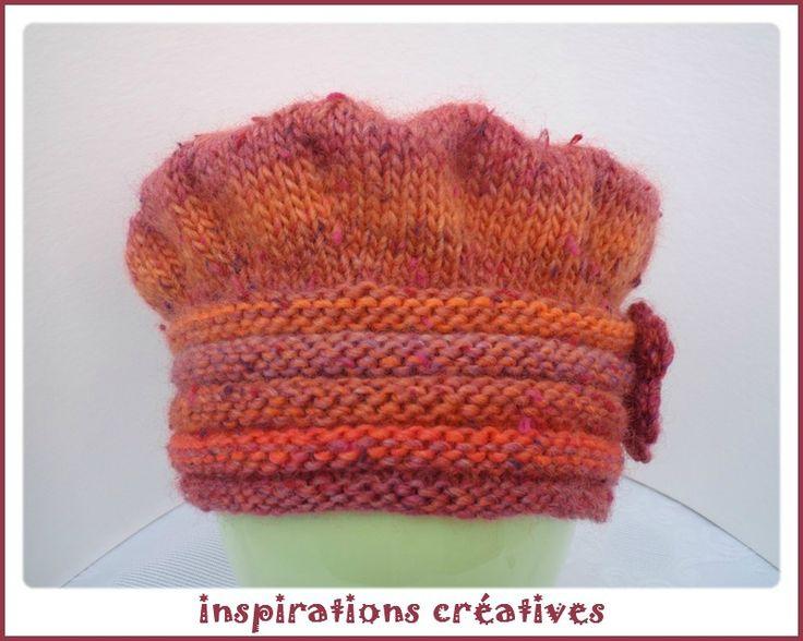 Chapeau d'hiver pour enfant à tricoter