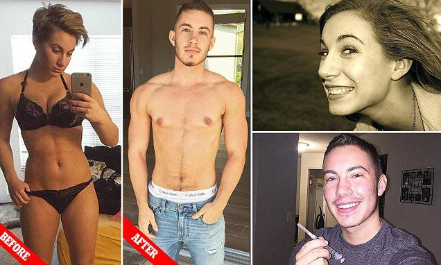 Transgender man openly shares before and after transition images -   A transgender man is sharing stunning before and after images of himself to show that not all trans people exhibit outward signs of identifying with... See more at https://www.icetrend.com/transgender-man-openly-shares-before-and-after-transition-images/