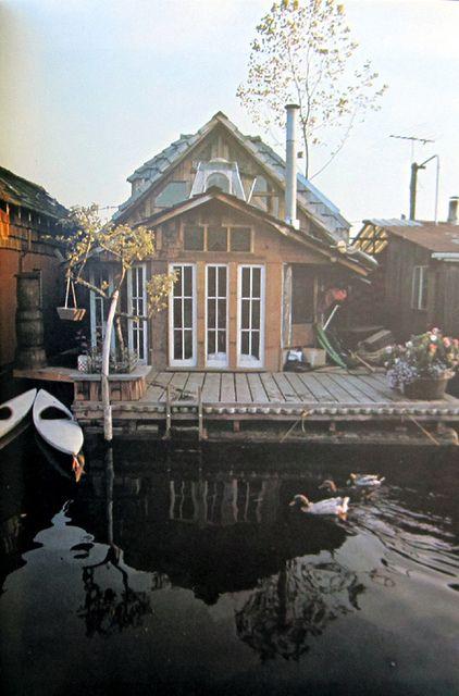 : Tiny House, Floating House, Houseboats, Dream, Boathouse, Floating Homes