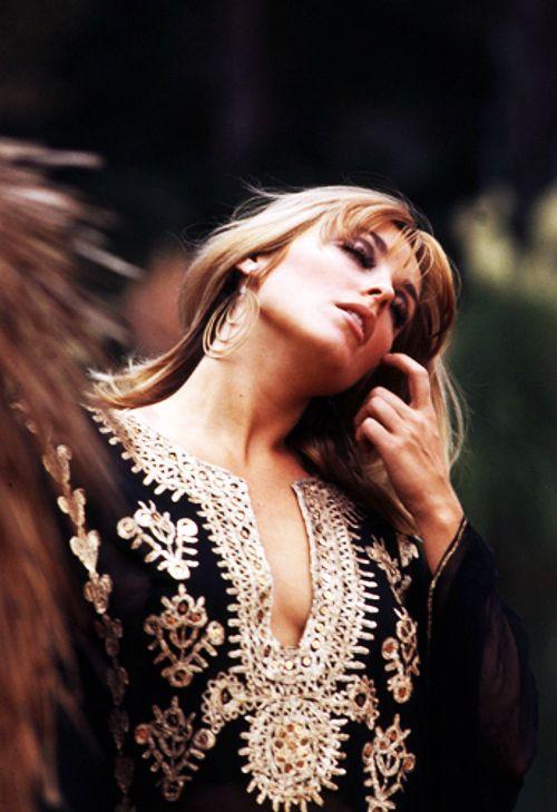 Sharon Tate in the backlot of MGM Studios, 1966. Photo by Orlando Suero