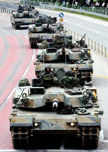 S.korea army MBT K1A1