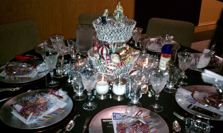 Christmas Lunch Table Decoration Ideas : Best images about womens brunch on