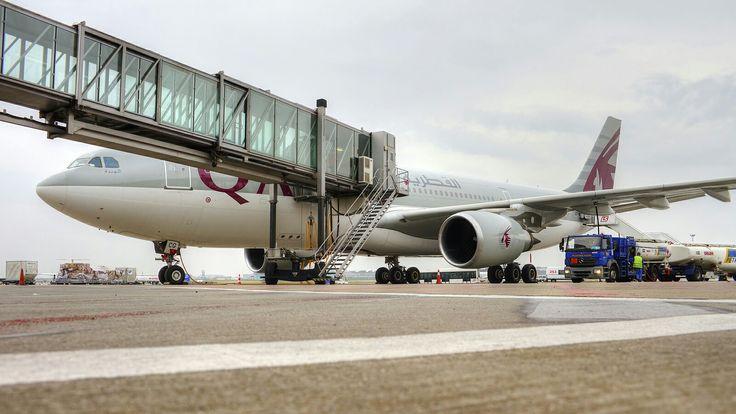 A330 Qatar Airways. Fot. Marek Kwasowski