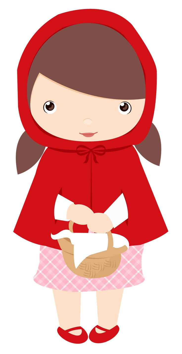 14 best chapeuzinho vermelho images on pinterest red riding hood rh pinterest com red riding hood characters clipart little red riding hood clipart black and white