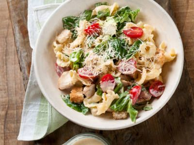 Roasted Chicken Salad Pasta Duo