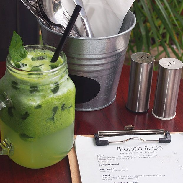 Green Juice at Brunch & Co, Alexandria | Daily Addict