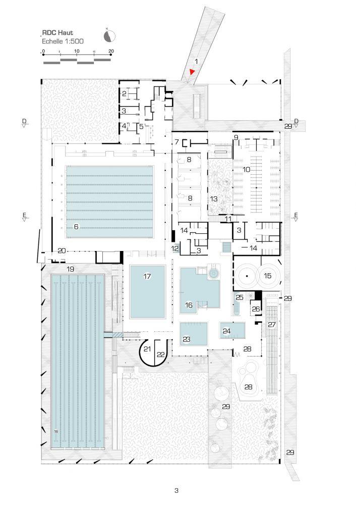Aquatic Centre Louviers / DRD Architecture