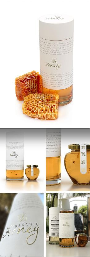 honey packaging concept