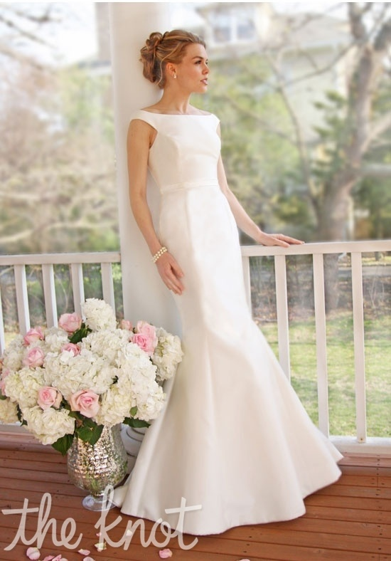 Check out this #weddingdress: 301 by Victoria Nicole via iPhone #TheKnotLB from #TheKnot