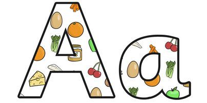 Twinkl Resources >> Healthy Eating Lowercase Display Lettering  >> Classroom printables for Pre-School, Kindergarten, Primary School and beyond! healthy eating, healthy living, healthy eating display letters, healthy eating lettering, healthy food, health,