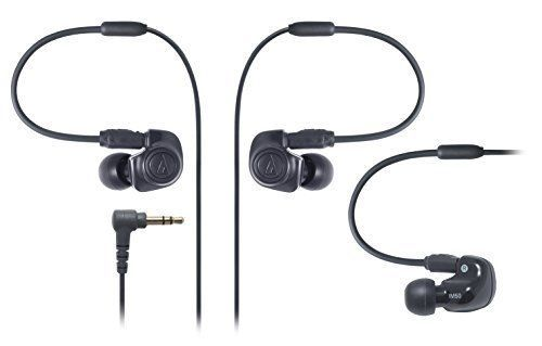 Audio Technica ATH-IM50 Dual symphonic-driver In-ear Monitor Headphones Black #AudioTechnica