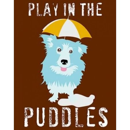 Play in the Puddles Canvas Art - Ginger Oliphant (22 x 28)