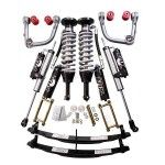 FOX Ultimate Suspension Lift Kit for 2005, 2006, 2007, 2008, 2009, 2010, 2011, 2012, 2013, 2014, 2015 Toyota Tacoma Part: UL-FOXTA05 Fits All 2005+ Tacomas 4WD & 2WD Prerunner (6 lug wheels only) Fox is very high quality with a known name brand. It is more economical than an ICON kit yet it is still […]