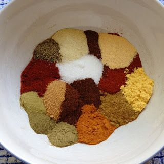 "Recipe for a well-rounded blend of seasonings making a perfect ""dry rub"" for chicken wings and drummers. So good, no need for a dipping sauce!  Great on chicken halves and quarters too."