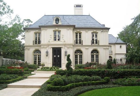 french chateau homes photos | ... Dame Designs - home exteriors - French, Chateau, French home exterior