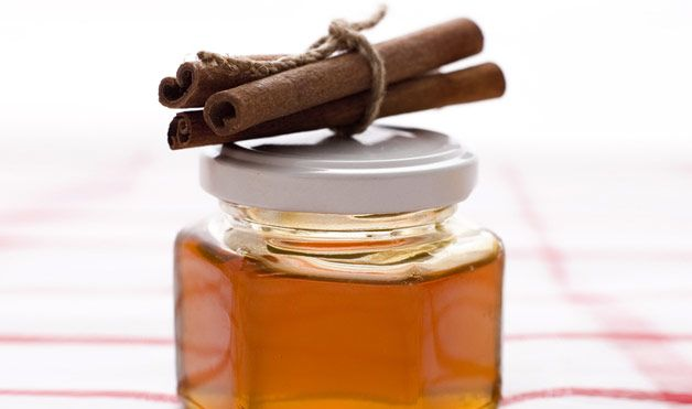 For Acne and Facial Blemishes:  Dosage: Mix 4 tablespoons of honey with 3 teaspoons of ground cinnamon. Before going to sleep, apply it to your face; leave it on overnight. Apply as often as needed.  Verdict: The cinnamon is the most important part of this mix because it acts as an anti-inflammatory, and will take down the redness and puffiness, says Dr. Hirsch. But honey is also known for its healing and moisturizing properties when it's applied to the skin.