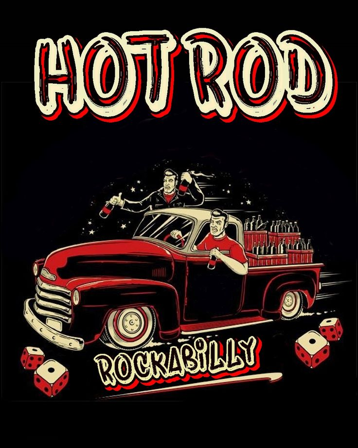 71 best poster Art hot rod rockabilly images on Pinterest   Hot rods ...