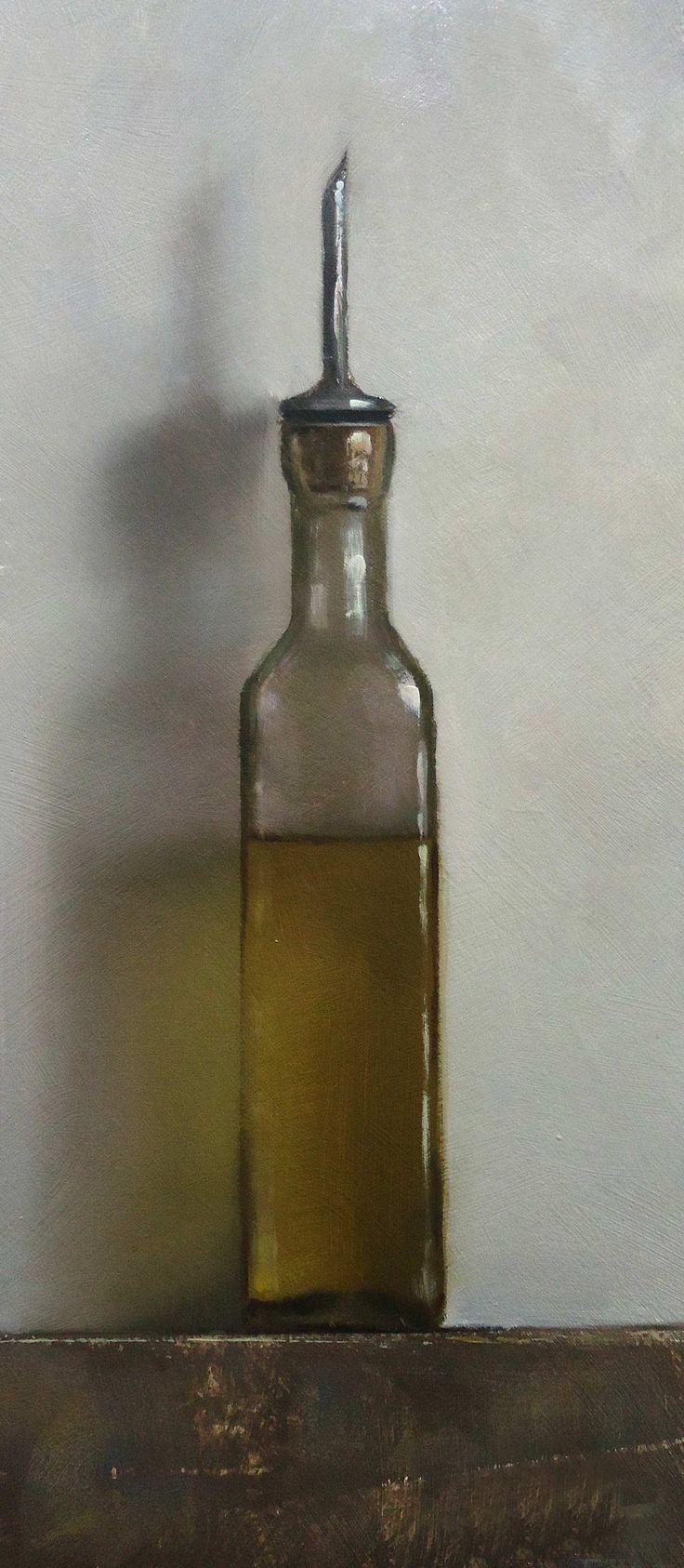 Olive Oil - oil on panel - Neil Nelson