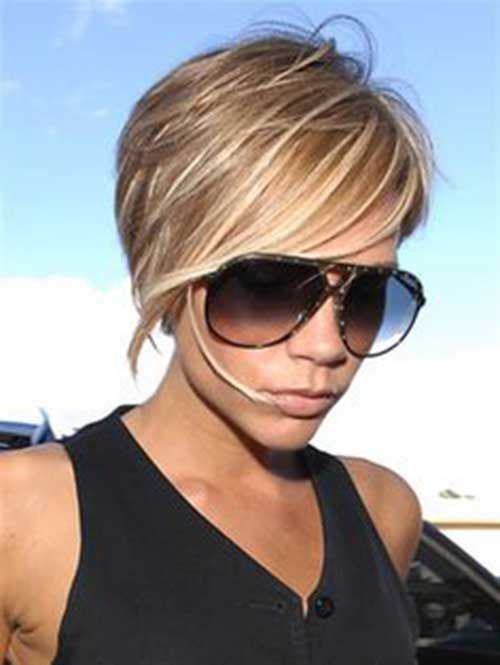 23.Long Pixie Hairstyles with Bangs