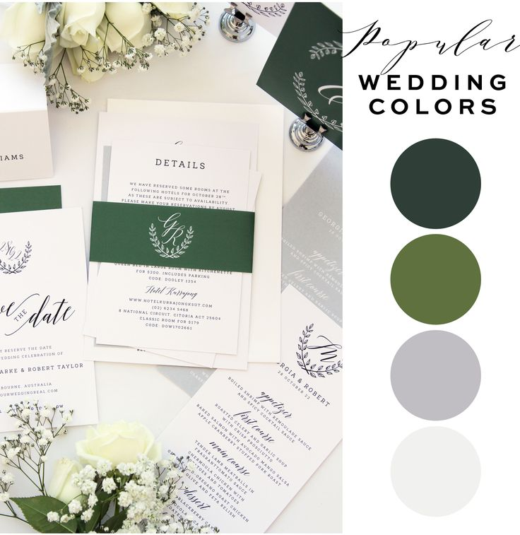 17 best ideas about green wedding invitations on pinterest, Wedding invitations