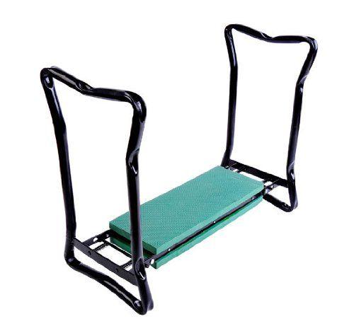 Outsunny Folding Garden Kneeler Kneeling Bench Chair