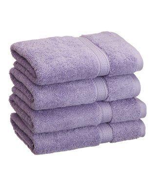 Purple Hand Towel - Set of Four