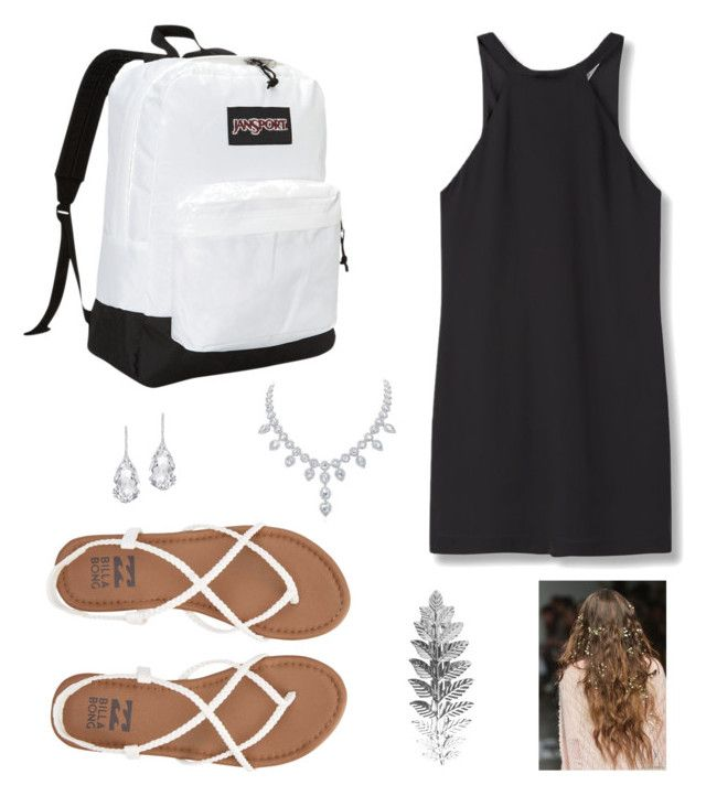 """""""Picture day outfit"""" by schooloutfitposts on Polyvore featuring MANGO, Billabong, JanSport, Pieces and Plukka"""
