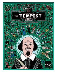 THE TEMPEST Study Guide--includes nice one-page biography, one-page summary of the play, and lots of other goodies. This site also has free guides to Much Ado about Nothing, Romeo and Juliet, and Macbeth.