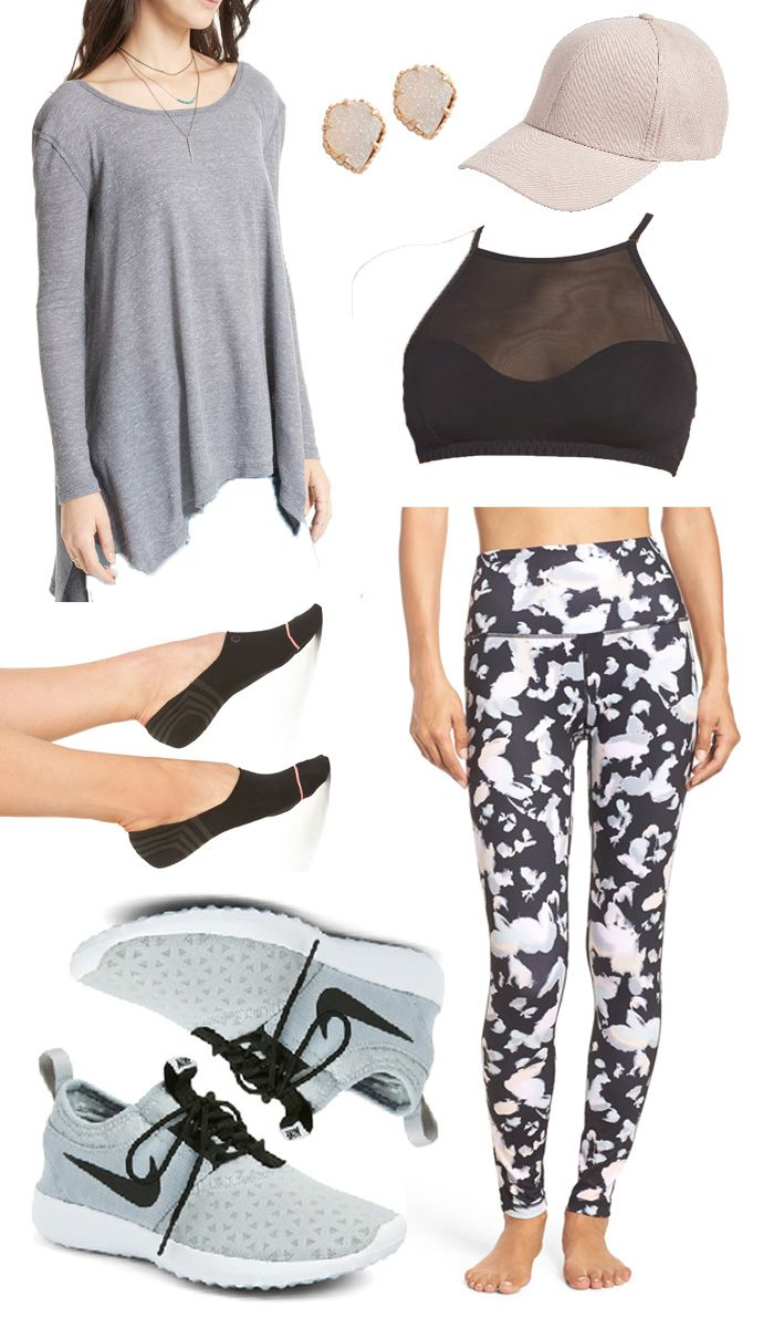 Style Board Series: Volume 1 | Week 6 | Style Your Senses // Chic Athleisure wear