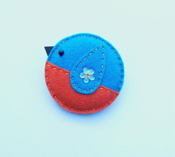 birdie...to make a book mark add ribbon and a felt 'egg'