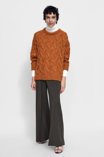 CABLE KNIT SWEATER-MOM-WOMAN-CORNER SHOPS  056ac7308794