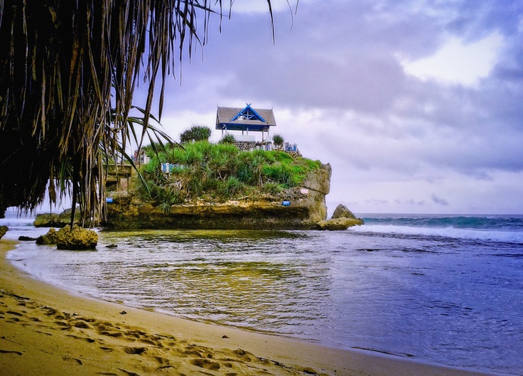 Kukup  beach, Jogjakarta, Indonesia