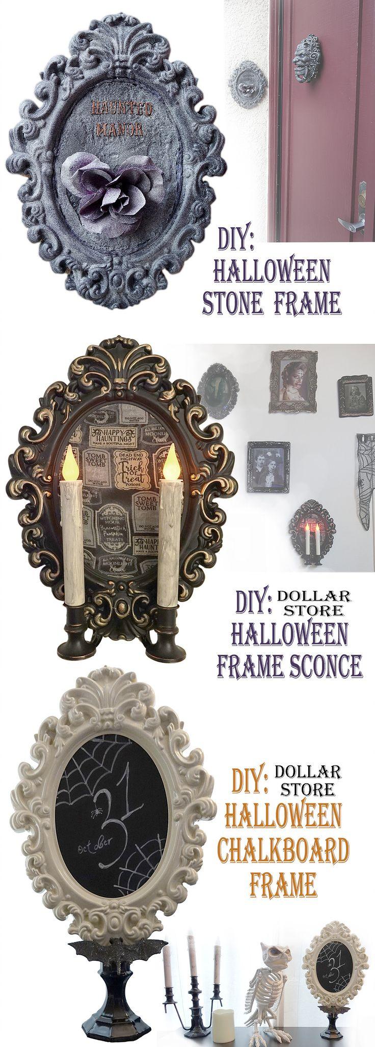 574 Best Halloween Images On Pinterest Embroidery Skulls And Stitches Led Lantern Flicker Circuit Hauntforumcom Dollar Store Frame 3 Diys