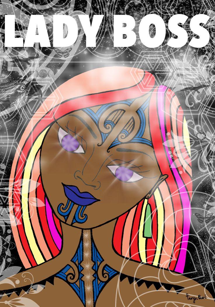 Maori Art by Taryn Beri