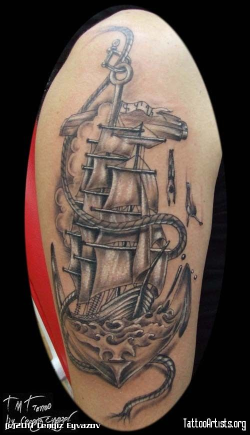 100 the 25 best anchor tattoos the 25 best anchor for Kyrie irving tattoos shoulder
