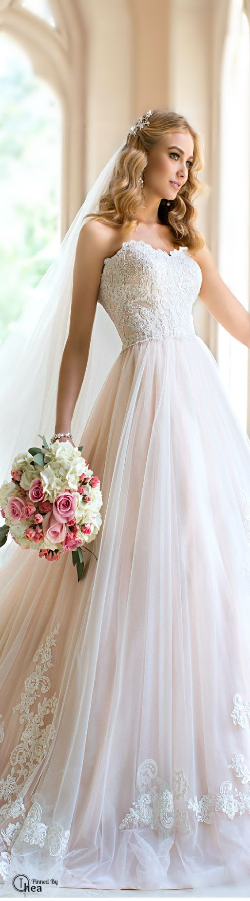46 best stella york images on pinterest short wedding for Antique inspired wedding dresses
