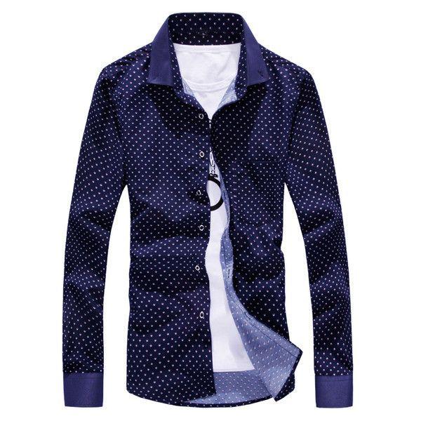 Mens Edgy Dress Shirt