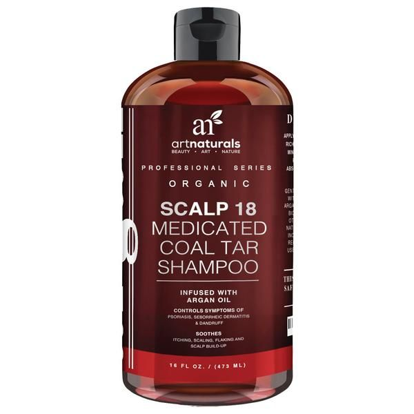 Art Naturals Scalp 18 Coal Tar Shampoo - 473ml